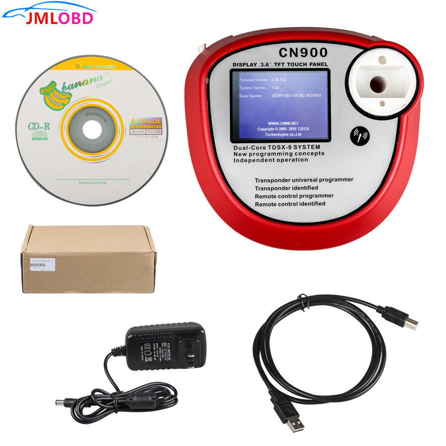 2018 OEM CN900 key programmer cn900 key maker CN 900 auto key programmer for 4C&4D CHIP Update by Email Free Shipping