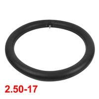 UXCELL Zwart Motorbike Rubber Us Type Ventiel Binnenband Band 2.50-17