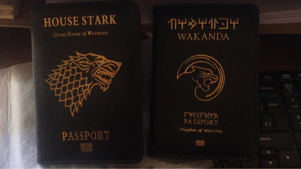 Wakanda Paspoort Cover Marvel Black Panther Paspoort Tas Reishoes Het Paspoort Asgard Paspoort Houder Drop Shipping photo review