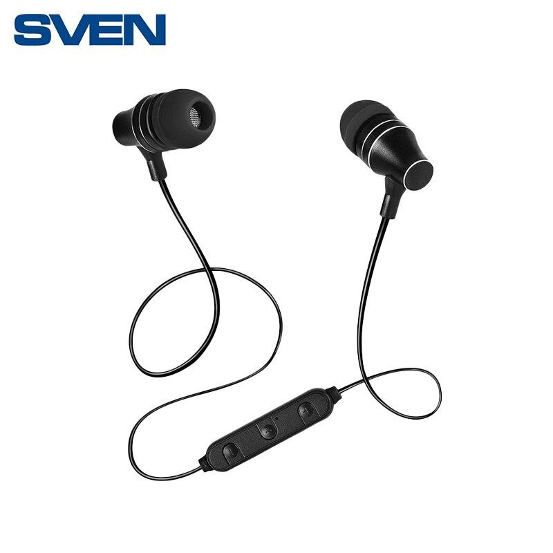 Беспроводные внутриканальные наушники с микрофоном SVEN E-225B ht 225b 100