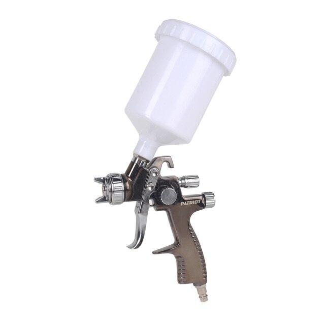 Краскораспылитель пневматический PATRIOT LV 500 (Объем бачка 0.5 л, расход воздуха 175 л/мин, диаметр сопла 1.5 мм)