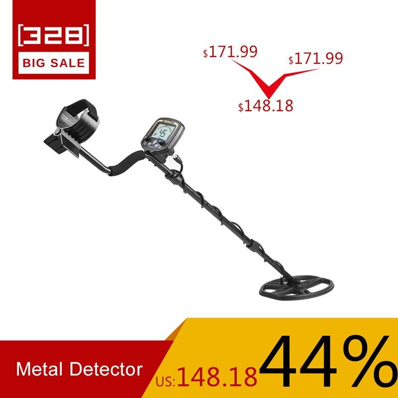 TIANXUN portátil LCD pantalla TX-850 profundidad Detector de Metales subterráneo oro cazador de alta sensibilidad