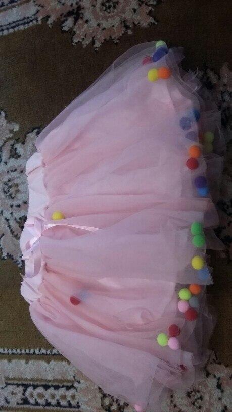Cute Bouffant Lace Girl's Mini Skirt photo review