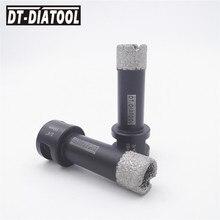 цена на 2pk Diameter 3/4 19MM Coated diamond Dry drilling bits 5/8-11 female thread Drill core bits hole saw for granite marble tile