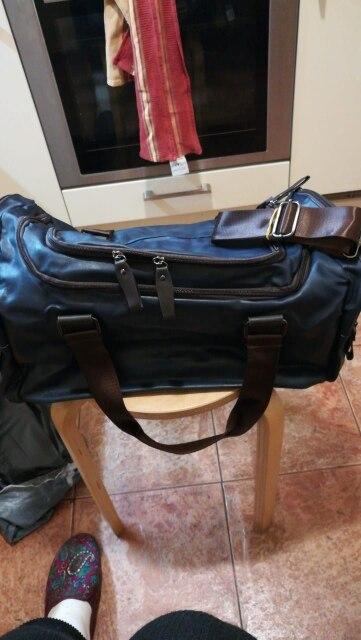 Men handbag Large capacity Travel bag fashion shoulder handbags Designer male Messenger Baggage bag Casual Crossbody travel bags photo review