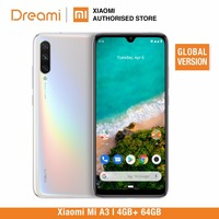 Global Version Xiaomi Mi A3 64GB ROM 4GB RAM (Official) mia364gb