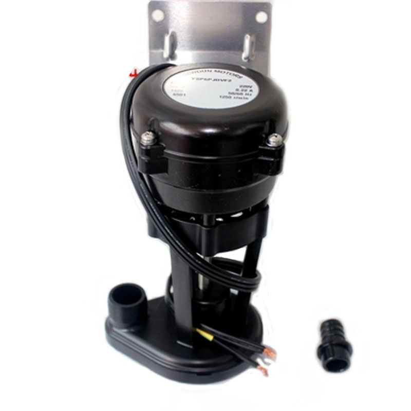 General snow snowing ice maker water pump ice maker water pump 6W pump YSP6PJDVF2 15hp water cooled condenser for ice maker machines