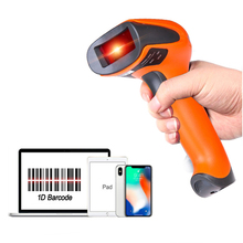 ФОТО hw-f13 wireless ccd barcode scanner and hw-f20 wired bar code reader for mobile payment and express logistics