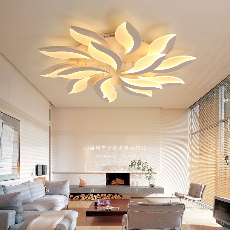 Acrylic Modern Led Ceiling Lights for Living Room Bedroom kids room ceiling lamp Modern Decorative lampshade Lamparas de techo