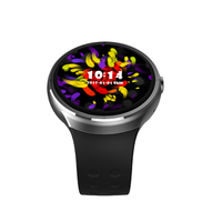 Smart Watch GPS navigation 1GB 16GB Android 5.1 MTK6580 Heart Rate Smart Watch Bluetooth WIFI GPS SIM Smartwatch GPS Android IOS