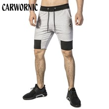 CARWORNIC New Casual Gyms Shorts Men Summer Cotton Workout Bodybuilding Sweatpants Fitness Jogger Short Pants Singlet