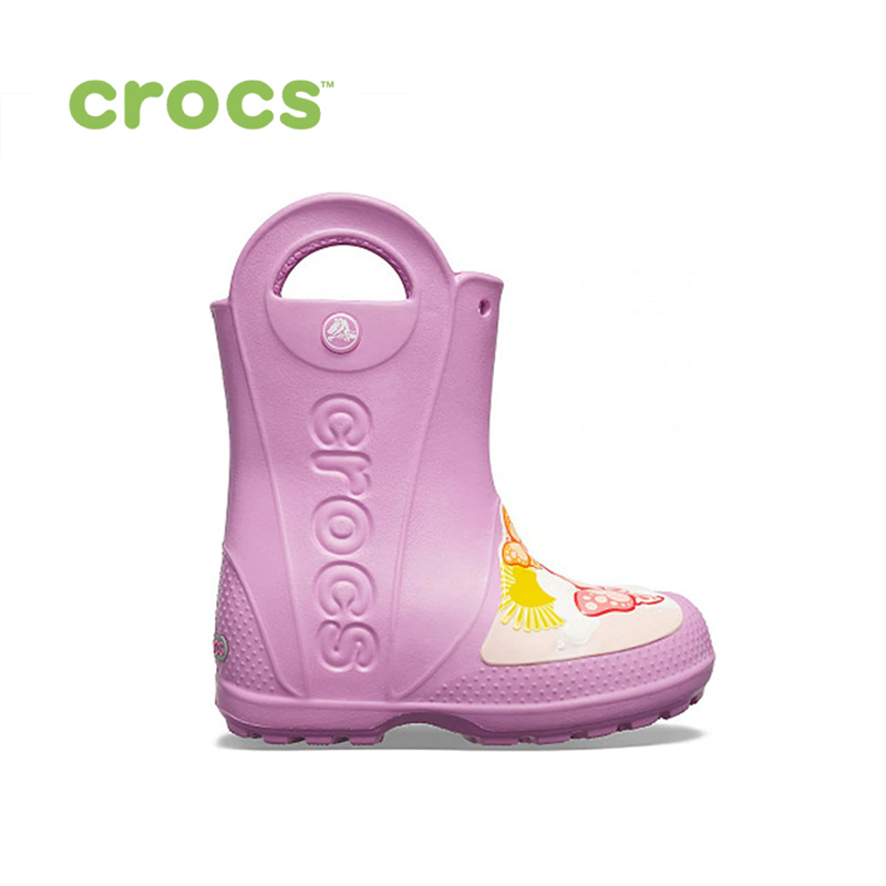 CROCS CrocsFL Butterfly Rain Boot K KIDS or boys/for girls, children, kids TmallFS