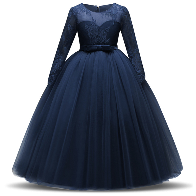 Elegant Girls Bridesmaid Dress