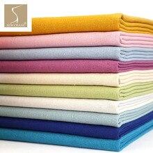 140 см в ширину белье чистых тонов ткань сплошной цвет зеленый розовый синий белый серый желтый черный одежда ткань домашнее ремесло ткань