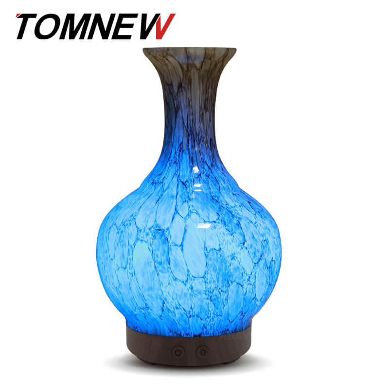 все цены на TOMNEW 100ml Glass Aromatherapy Essential Oil Diffuser Ultrasonic Aroma Diffuser Cool Mist Air humidifier for Home Office or Spa онлайн