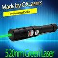 Oxlasers ox-OX-GX9 520nm (NON 532nm) 1 w Burning Focusable puntatore laser Verde uccello repellente Laser con chiave di sicurezza di trasporto libero