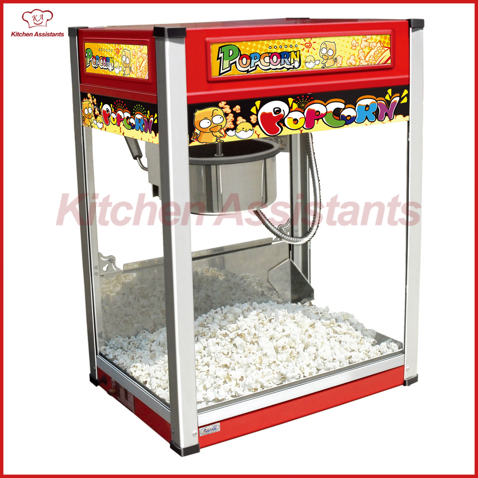 VBG801 Electric Professional automatic popcorn machine maker with big volume vbg1708 professional automatic popcorn machine maker with big volume 8oz series