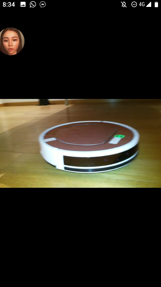 ILIFE V7s Plus Robot Vacuum Cleaner Sweep&Wet Mop Simultaneously with Roller Brush for Hard Floor 120min Run Time Reservation