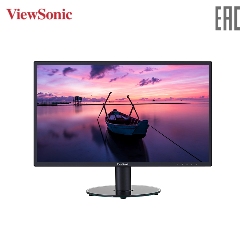 Monitor 27 Viewsonic VA2719-SH Black (IPS, LED, 1920x1080, 5 ms, 178/178, 300 cd/m, 50M:1, +HDMI) профессиональная панель 42 5 philips bdl4330ql 00 black led 1920x1080 6 5 mc 178° 178° 350 cd m 3000 1 dvi hdmi