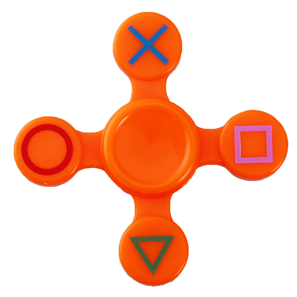 Fidget Shield Spinner Finger ABS EDC Spinner Hand For Kids Autism ADHD Anxiety Stress Relief Focus Handspinner Toys Gift