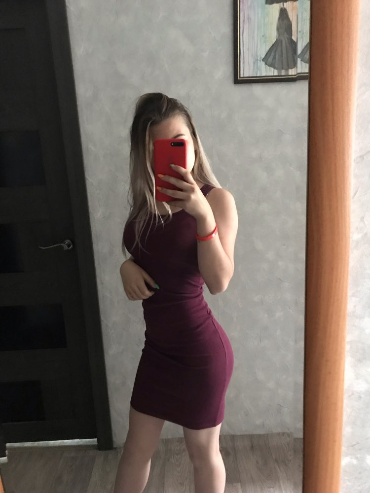 Basic Vest Dress Women High Stretch Ribbed Knit Dress Summer Solid Brief Casual Dress Bodycon Pencil Midi Day Dresses photo review