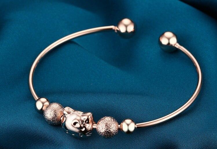 73466cdb5f3e Uloveido boda color plata pulseras corazón Brazaletes pulseiras mujer para  las mujeres bijoux señoras moda femenina joyería dml44