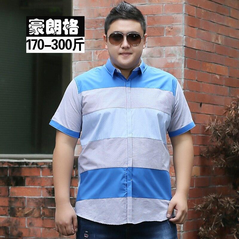 10xl 9xl 8xl Men's Shirt Striped Long Sleeve Plaid Shirts Mens Dress Shirt Brand Casual Denim Style Printing Shirts 7xl 6xl 5xl