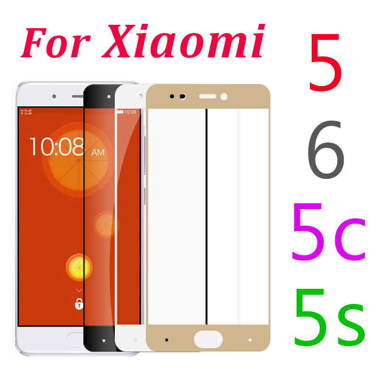 Protective-Glass S-Screen-Film Xiaomei 6-Tempered For Mi-5 On 5S Full-Cover 5C C5 S5