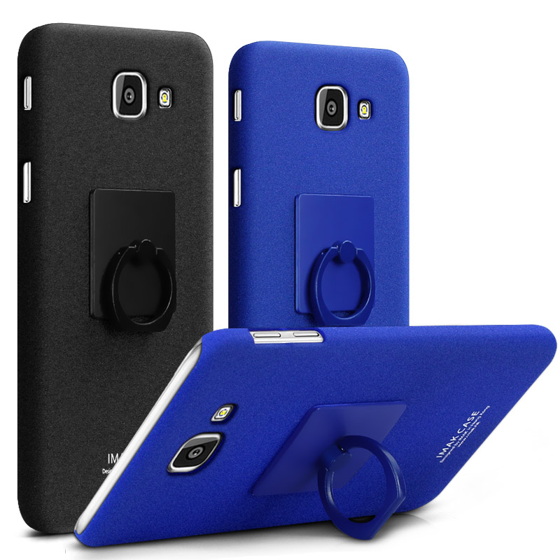 online store 53558 5af14 US $11.4 |For Samsung Galaxy J7 Max G615F Frosted Case Ring Holder IMAK  Cowboy Case Matte Cover For Samsung J7 Max Dual SIM Back Cover-in Fitted  Cases ...