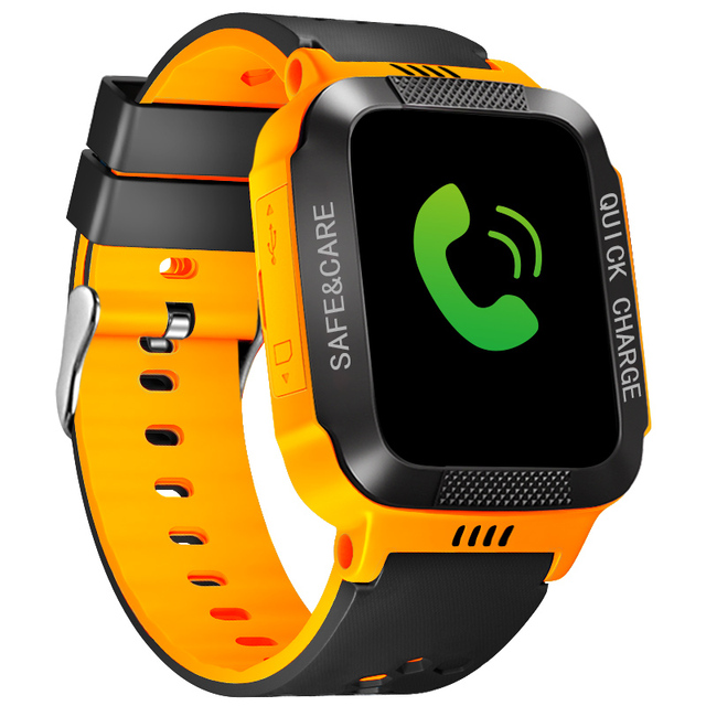 IYURNIXNUHS Touch Screen Smart Watch with Camera Flashligh SOS Call Location Device Tracker for Kid Monitoring YS21S 5