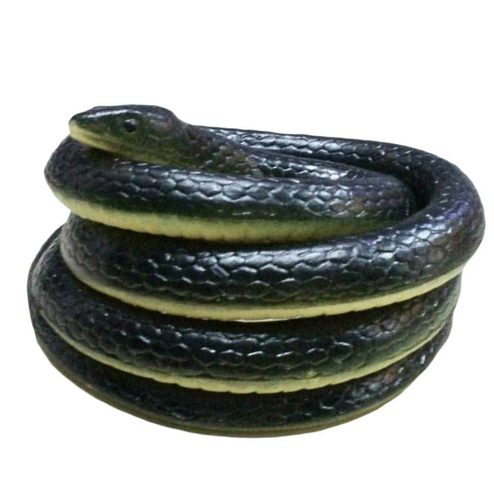 Rubber High Simulation Toy Snake Model Funny Scary Snake Kids Gag Toys Prank Funny Toys Halloween Prank Prop For Decor 1.6m