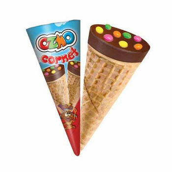 SOLEN OZMO CORNET CHOCOLATE 25 гр (24 шт) из Турции