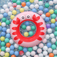 Baby Swimming Ring Inflatable Pool Float Crab Kids Swim Circle Floating Children Swimming Pool Accessories Toys 2019 relaxing baby circle float swimming ring for kids swim pool bathing accessories with gifts dropshipping