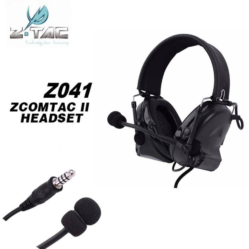все цены на Z Tactical Comtac 2 headphone Hunting Comtac II Headset Airsoft Paintball Headset Active Noise Canceling Airsoft Earphone Z041 онлайн