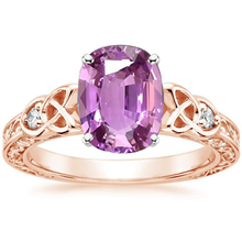все цены на ANI 18K Rose Gold (AU750) Women Wedding Ring Certified Natural Pink Sapphire Pear/Oval/Rectangle Shape Engagement Diamond Ring онлайн