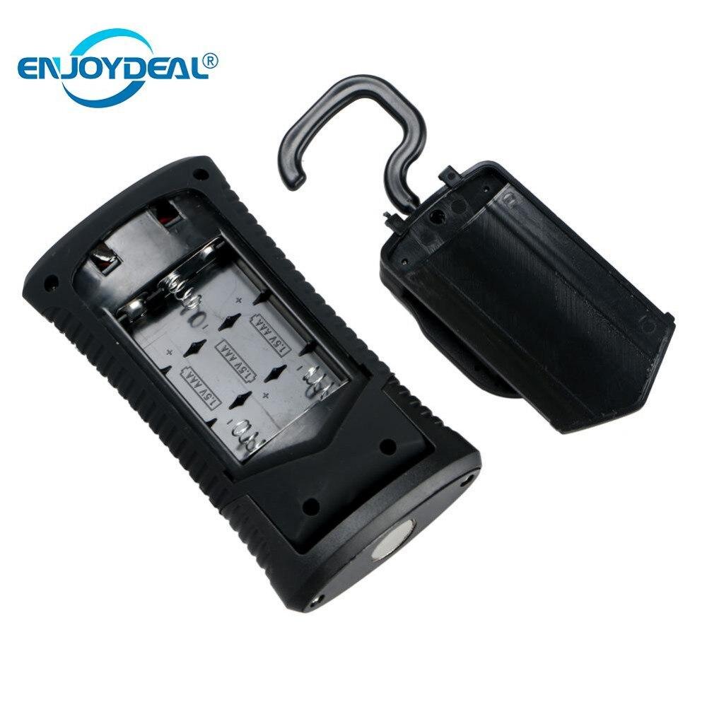 Cob Led Worklight Inspection Lamphand Tool Garage: COB LED Flashlight Pocket Light Keychain Work Light