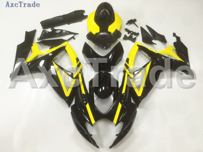 Motorcycle Fairings For Suzuki GSXR GSX-R 600 750 GSXR600 GSXR750 2006 2007 K6 06 07 ABS Plastic Injection Fairing Bodywork B08 injection mold fairing 2006 2007 for suzuki gsx r 600 750 k6 k7 plastic bike bodywork red frame free brand logo decal
