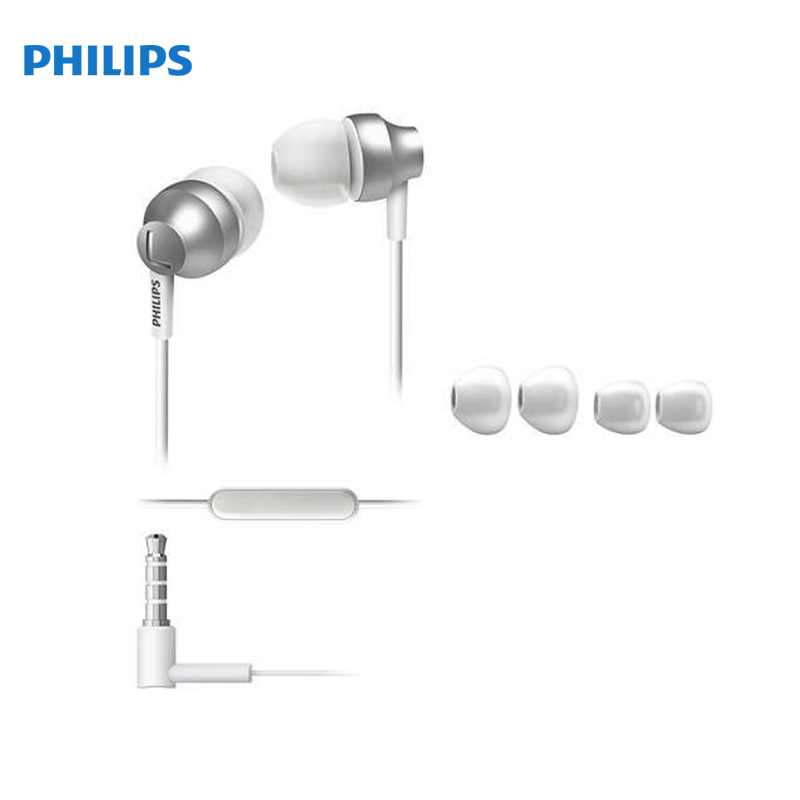 EOL in-ear Philips SHE3855 in-ear Earphone wireless earbuds in ear bluetooth earphone waterproof true stereo sound with mic charge box jh