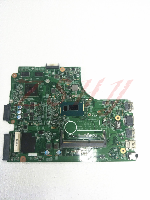 For DELL 15 3542 laptop motherboard CN-01P4HG 01P4HG 1P4HG 13269-1 PWB FX3MC MB With i5 Processor цена и фото