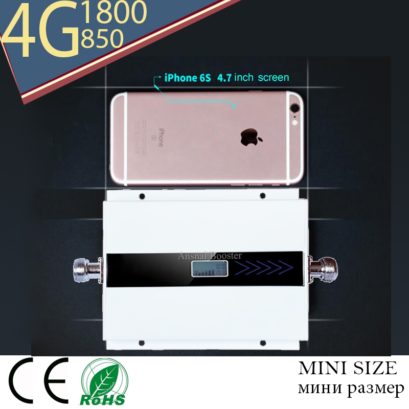 Repetidor Celular CDMA 850 Mhz Gsm  DCS1800 Dual Band Mobile Signal Booster Repetidor Sinal De Celular Lte1800mhz 850  Amplifier