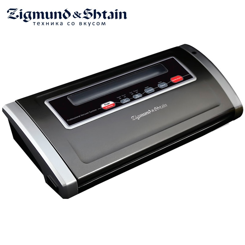 Zigmund & Shtain VS-505 Vacuum packing machine Vacuum Food Sealer 170W 2 modes of autovacuuming Vacuuming in containers 2 100g new model tea food grain powder packaging machine
