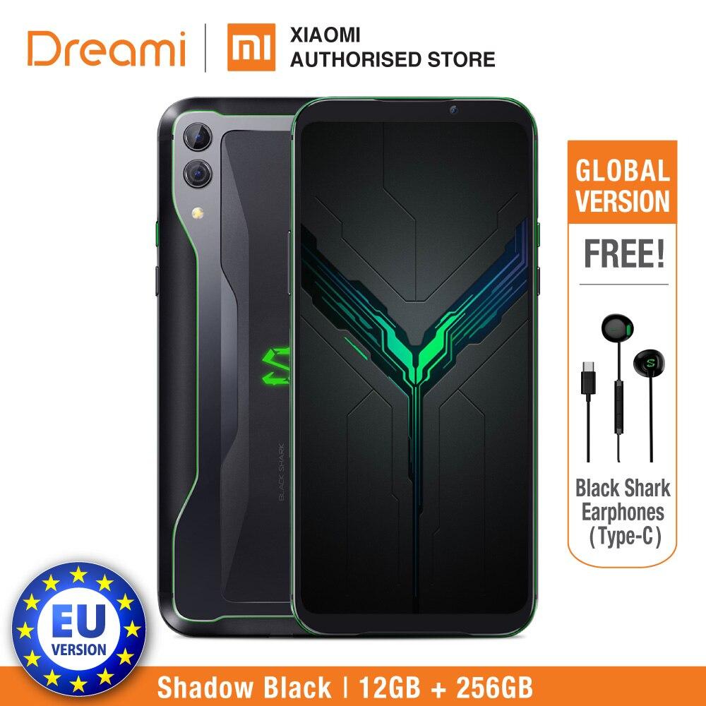 UE Versão Black Shark 2 12GB de Ram de 256GB Rom (Brand New e Caixa Selada) Original