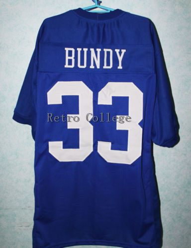 AL BUNDY #33 POLK HIGH Football Jerseys MARRIED WITH CHILDREN JERSEY Customize any number size and player name