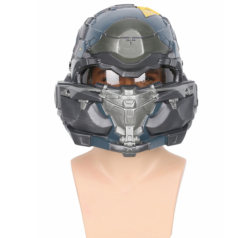 Clearance Halo 5 Guardians Spartan Helmet Game Cosplay Helmet High Quality Resin Full Head Mask Helmets Cosplay Props Accessory