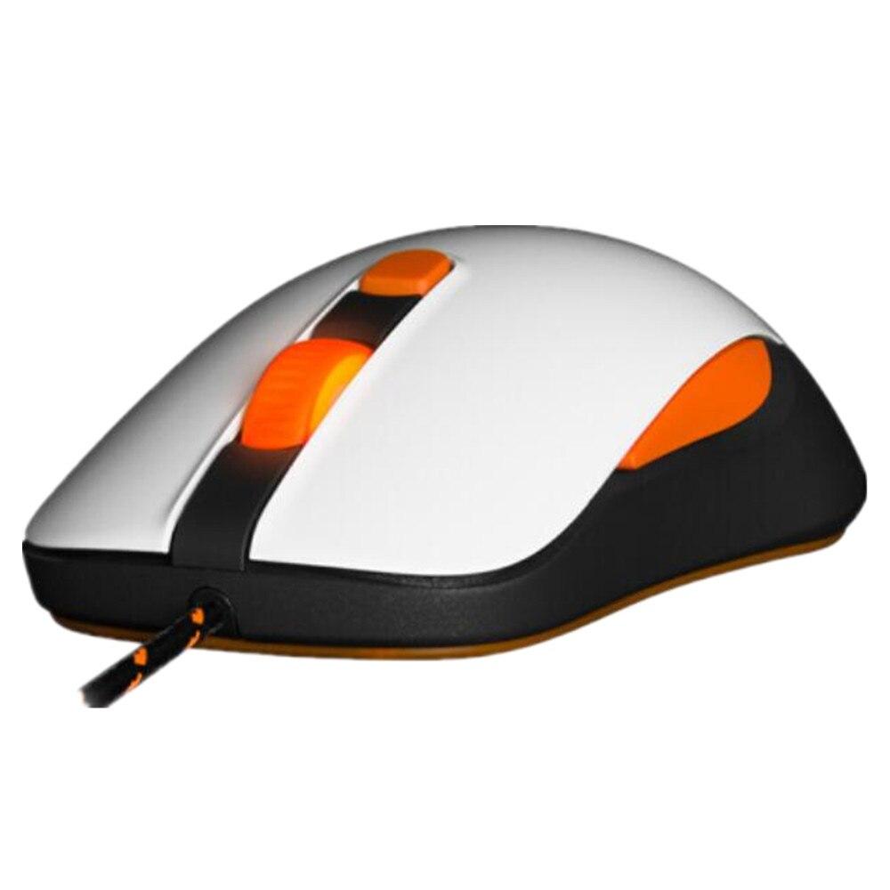 Souris de jeu optique 100% origianl SteelSeries Kana V2 souris et souris de jeu optique professionnelle de base de course-blanc - 2