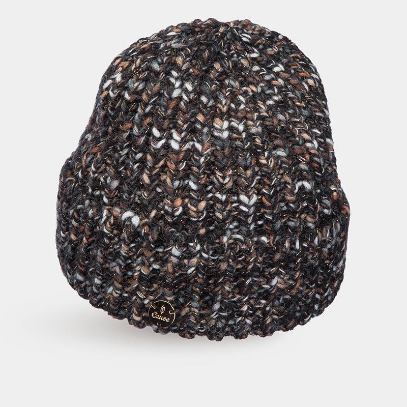 Hat Woolen hat Canoe 4713610 FANTA stylish woolen beanie winter hat cap camouflage