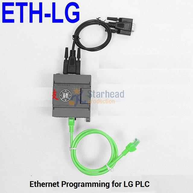 US $198 0 |Isolated ETH LG PLC Programming Adapter, for Ethernet to LG PLC  DB9 RS232 Port, Replace USB LG Cable-in Computer Cables & Connectors from