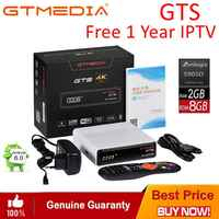 Original GTmedia TV BOX Smart 4K Ultra HD 2G 8G Android 6.0 Built in WiFi Cast 4K/3D/H.265/MPEG-4 movie Media Player Set-top Box