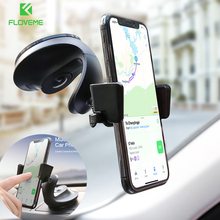 FLOVEME Windshield Car Phone Holder For iPhone XS MAX Dashboard 360 Rotation Mount Stand Samsung Xiaomi Mi9