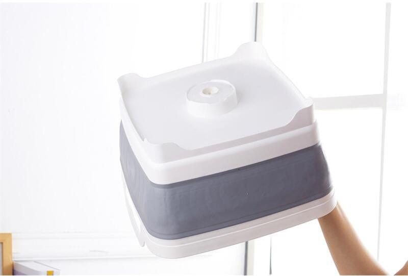 Kvadratfrukt Grönsakssvamp Tvättfat Kök Produktförsörjning - Hushållsvaror - Foto 5